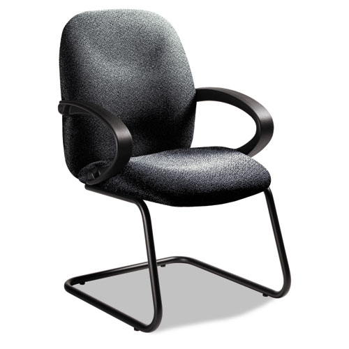 900 Global Enterprise Series Side Arm Chair, Polypropylene Fabric, Gray - 4565BKPB04 at Sears.com