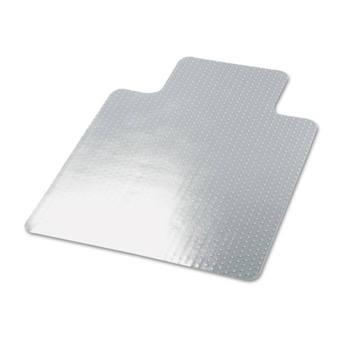 cleated chair mat for low and medium pile carpet 36 x 48 clear