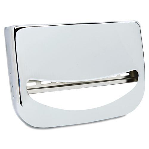 Toilet Seat Cover Dispenser 16 X 3 X 11 1 2 Chrome Zerbee