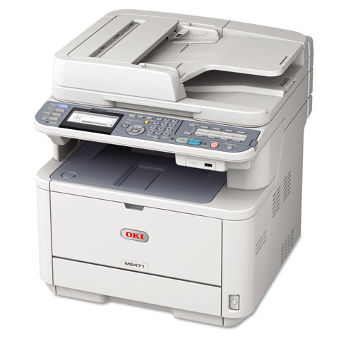 Oki MB471 MFP Multifunction Laser Printer, Copy/Fax/Print/Scan at Sears.com