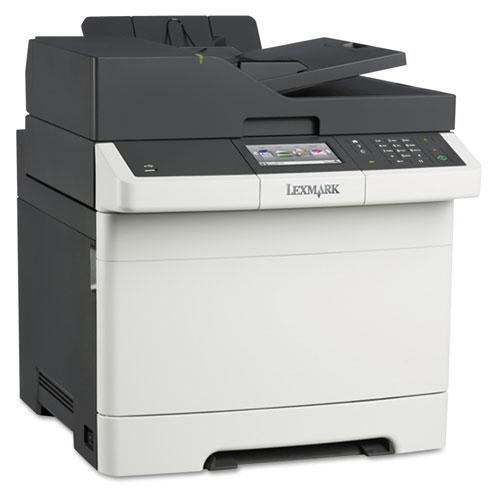 CX410de Multifunction Color Laser Printer Copy Fax Print Scan