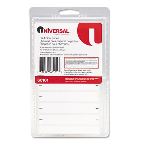 universal laser printer labels template - universal unv60101 typewriter compatible file folder