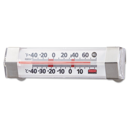 PELR80GC Rubbermaid Commercial Refrigerator/Freezer Monitoring Thermometer, -40 photo