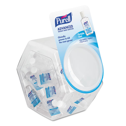 PURELL - Advanced Instant Hand Sanitizer Gel, 1 oz Bottle, Lemon Scent, 36/Bowl 3901-36-BWL (DMi EA at Sears.com
