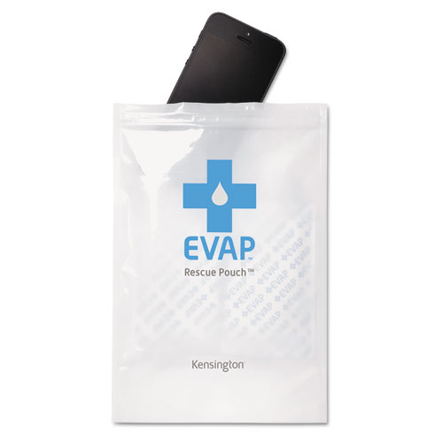 KMW39723 Kensington Evap Wet Electronics Rescue Pouch, White photo
