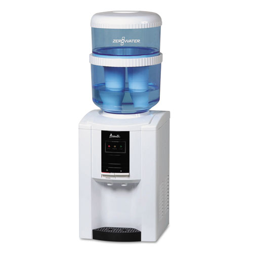 AVAWDTZ000 Avanti Zerowater Dispenser With Filtering Bottle, 5 Gal, Clear/White/Blue photo