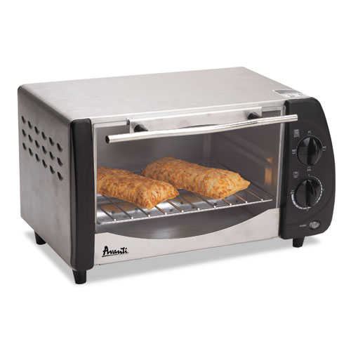 AVAT9 Avanti Toaster Oven, 9 Liter Capacity, Stainless Steel/Black photo