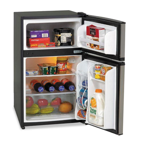 Counter Height Refrigerator And Freezer : Avanti Counter-Height 3.1 Cu. Ft Two-Door Refrigerator/Freezer, Black ...