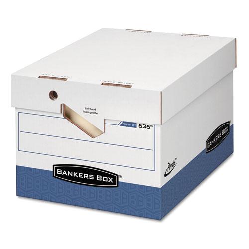 Fellowes Presto Maximum Strength Storage Box, LTR/LGL, 12