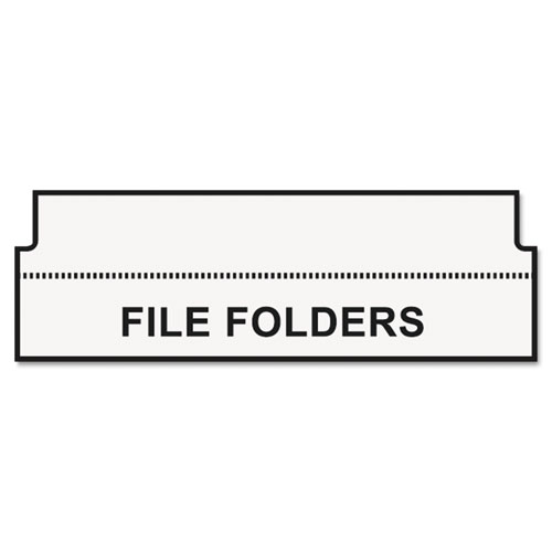 labelwriter hanging file folder tab inserts  9  16 x 2  white  260 labels  roll