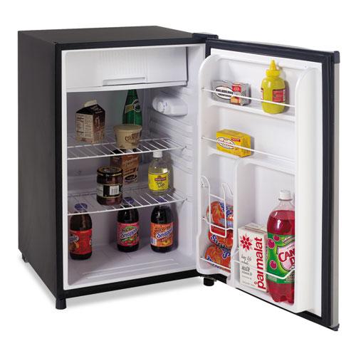 "Avanti - Counter Height 4.5 Cu. Ft Refrigerator, 20 1/4""w x 21 1/2""d x 33 1/4""h, BK/SS RM4536SS (DMi EA at Sears.com"