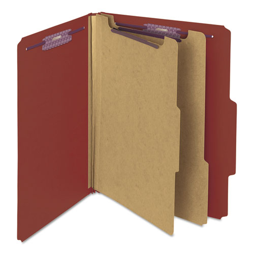 Smead 14075 pressboard classification folders self tab for Furniture 6 letters