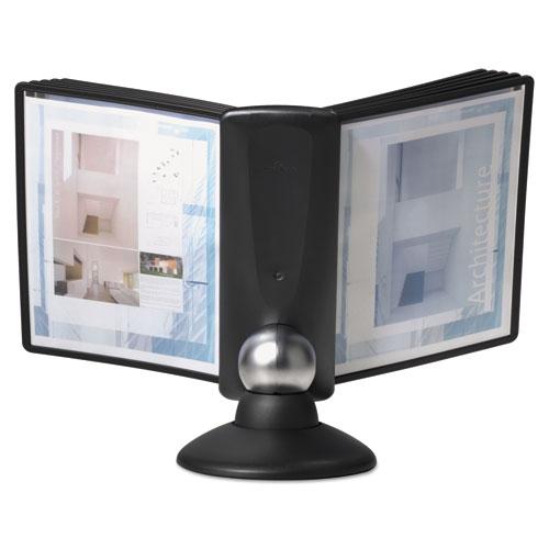 Sherpa Motion Desk Reference System 10 Panels Black