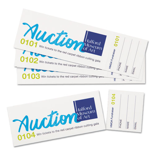 avery 16154 printable tickets w  tear 2 x