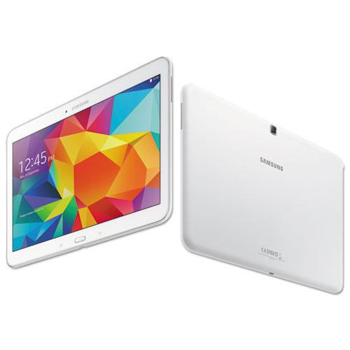SASSMT530NZWA Samsung Galaxy Tab 4 10.1 Tablet, 16 Gb, Wi-Fi, White photo