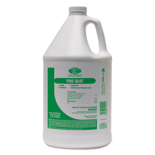 Pine Quaternary Cleaner Pine Scented 1gal Bottle 4