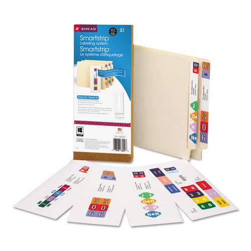 SMEAD MANUFACTURING CO. Smartstrip Labeling System Starter Kit w/CD Software & 50 Label Forms, Inkjet at Sears.com