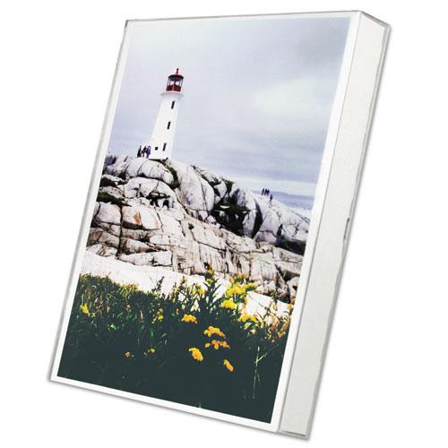 un frame box photo frame plastic 8 1 2 x 11 clear goddess products inc. Black Bedroom Furniture Sets. Home Design Ideas