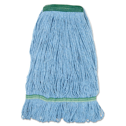 blue dust mop head medium looped end