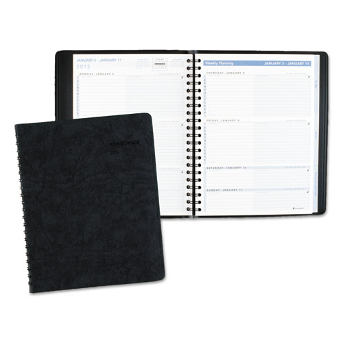 AAG70EP0105 At A Glance The Action Planner Weekly Appointment Book 8 18 X 10 78 Black 2015