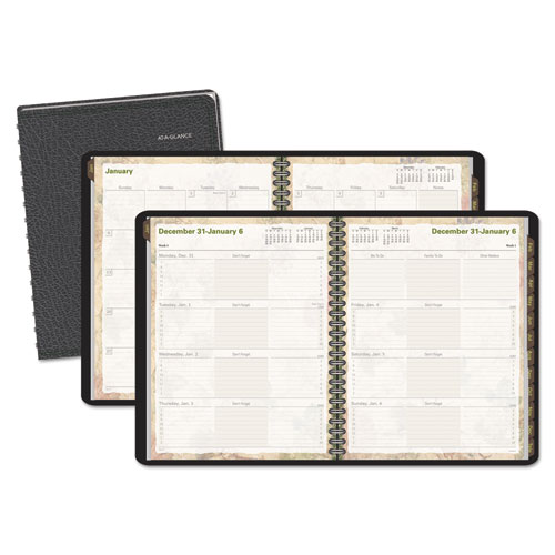 AAG70LL1005 At A Glance Lifelinks WeeklyMonthly Appointment Book 9 12 X 11 34 White 2015