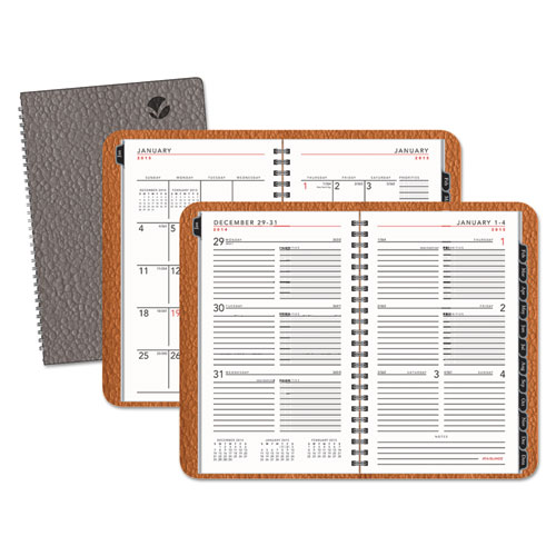 AAG70100X30 At A Glance Contemporary WeeklyMonthly Planner Weekly Block 4 78 X 8 White 2015