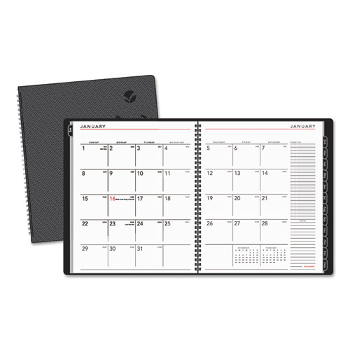 AAG70260X45 At A Glance Contemporary Monthly Planner Premium Paper 9 X 11 White 2015