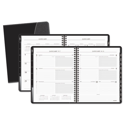 AAG7054505 At A Glance Executive WeeklyMonthly Appointment Book 6 78 X 8 34 White 2015 2016