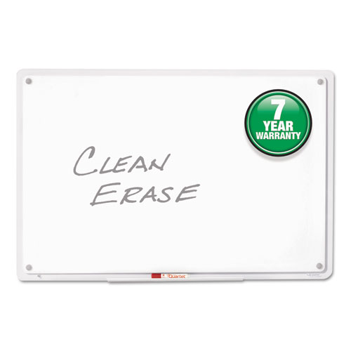 Iq Total Erase Board 11 X 7 White Clear Frame Qrttm1107