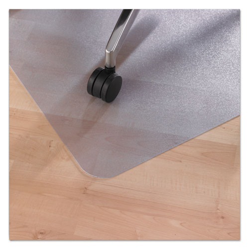 ecotex revolutionmat recycled chair mat for hard floors 48 x 36