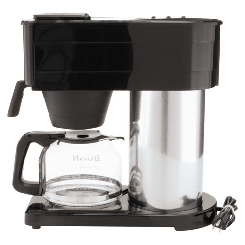 Bunn 10-Cup Pour-O-Matic Coffee Brewer, Black SupplyTime - SupplyTime.com