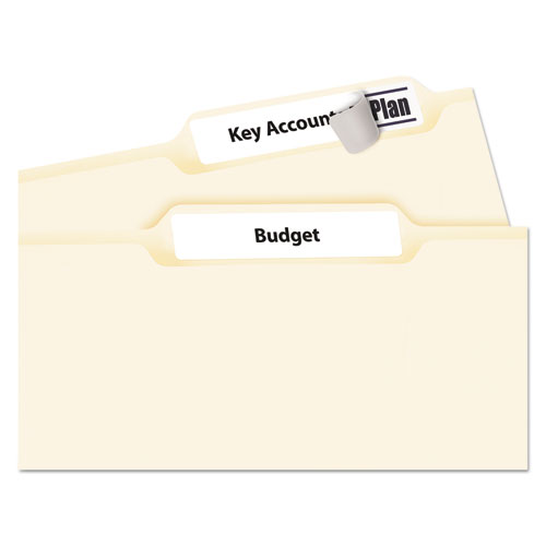 avery 5366 permanent file folder labels  trueblock  laser