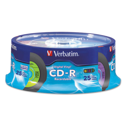 superwarehouse verbatim digital vinyl cd r storage media 25 pk verbatim 94488. Black Bedroom Furniture Sets. Home Design Ideas