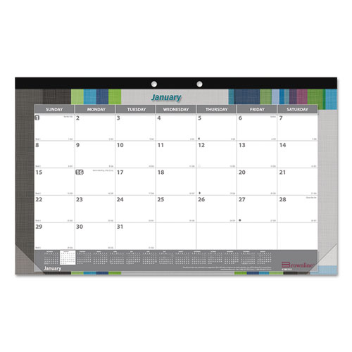 Superwarehouse Monthly Deskpad Calendar Chipboard