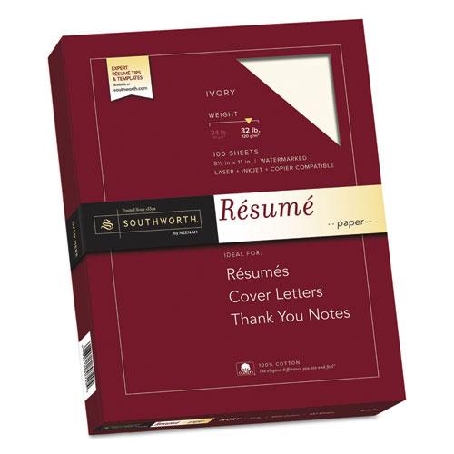 32lb resume paper