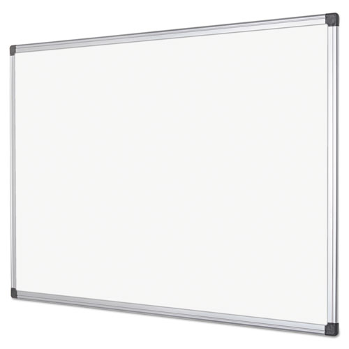 Metal Dry Erase Board : Mastervision ma value lacquered steel magnetic dry