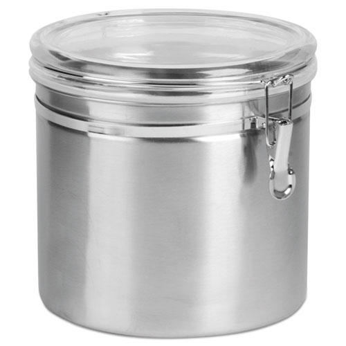 Stainless Steel Canisters 165 Oz Domade Inc
