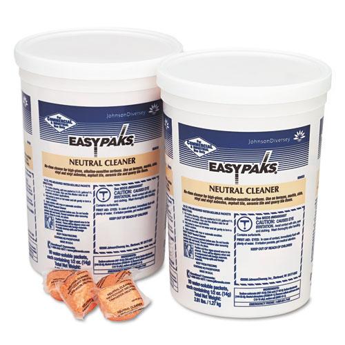 Easy Paks Neutral Cleaner, 90 .5 oz Packets/Tub, 2 Tubs/Carton at Sears.com
