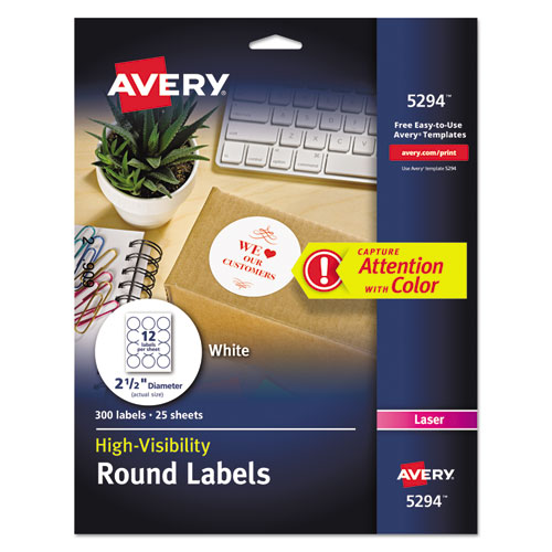 High Visibility Round Permanent ID Labels Laser 2 1 Dia