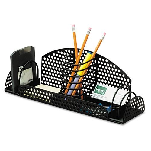 Perf ect multi desk organizer metal wire 12 7 8 x 4 x 4 - Wire desk organizer ...