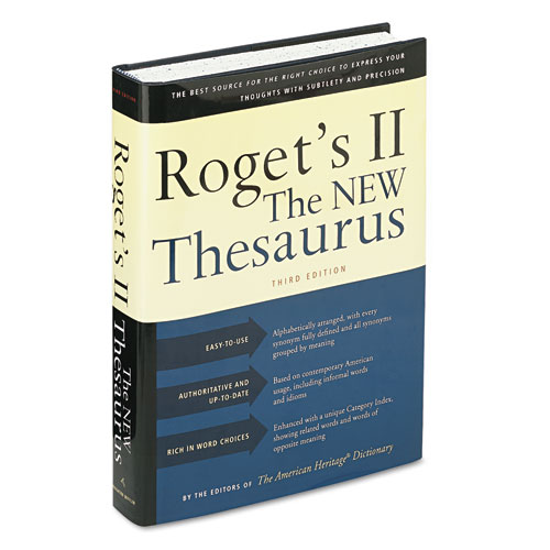 Houghton Mifflin Roget's II: The New Thesaurus, Hardcover, 1,216 Pages at Sears.com