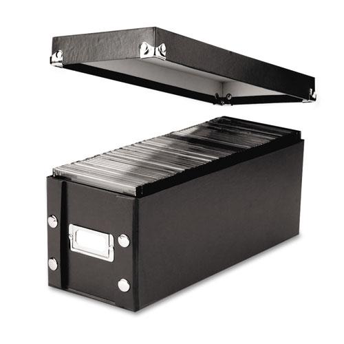 IDESNS01521 Snap-N-Store Media Storage Box, Holds 60 Slim\/30 Std. Cases