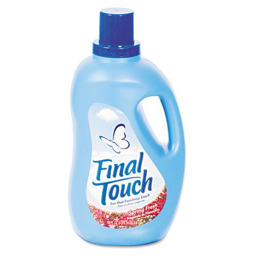Final Touch Final Touch Ultra Liquid Fabric Softener, 120 oz. Bottle -  four bottles of fabric softener. at Sears.com
