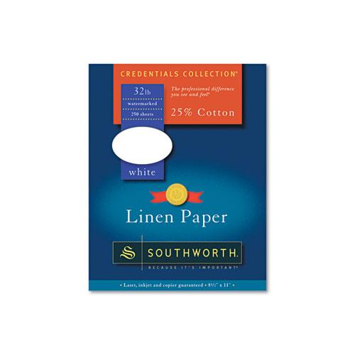 southworth j558c 25 cotton linen business paper 32 lbs