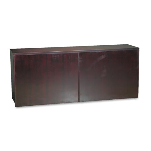 Veneer Low Wall Cabinet without Doors, 72w x 19d x 291/2h