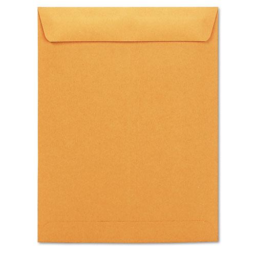 Catalog envelope center seam 10 x 13 brown kraft 250 for 10 x 13 window envelope