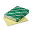 WAU49141 - Exact Index Card Stock, 90 lbs., 8-1/2 x 11, Canary, 250 Sheets/Pack
