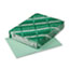 WAU49161 - Exact Index Card Stock, 90 lbs., 8-1/2 x 11, Green, 250 Sheets/Pack