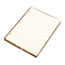 WLJ90110 - Looseleaf Minute Book Ledger Sheets, Ivory Linen, 11 x 8-1/2, 100 Sheet/Box