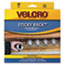 VEK91137 - Sticky-Back Hook and Loop Fasteners in Dispenser, 3/4 Inch x 30 ft. Roll, Black